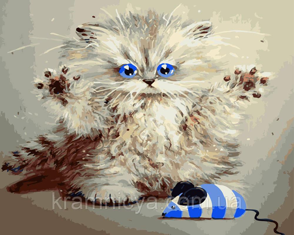 Картина за номерами 40х50 Кішки-мишки (GX4860)