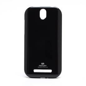 Чехол силиконовый на HTC One SV C520e / One ST T528t Mercury, черный