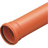 Труба канализационная ПВХ Evci Plastik 110х2 м. (2.2), фото 1