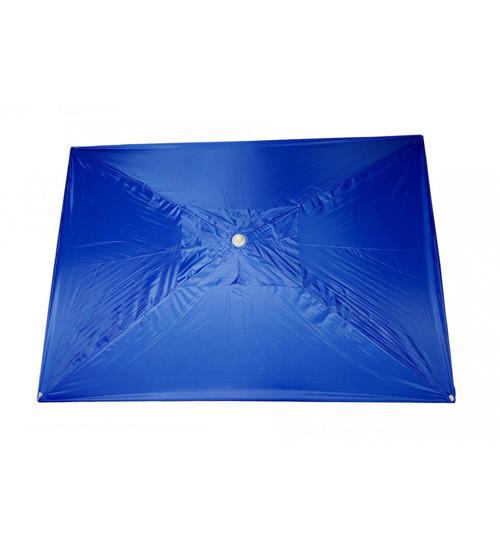 Зонт торговый, прямоугольный, 3х2 метра, с ветровым клапаном
