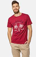 Мужская красная футболка MR520 MR 125 1666 0219 Bordo