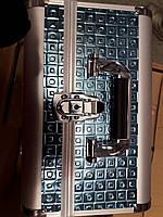Чемодан мастера металлическая раздвижная (изумрудный тесненный), фото 1