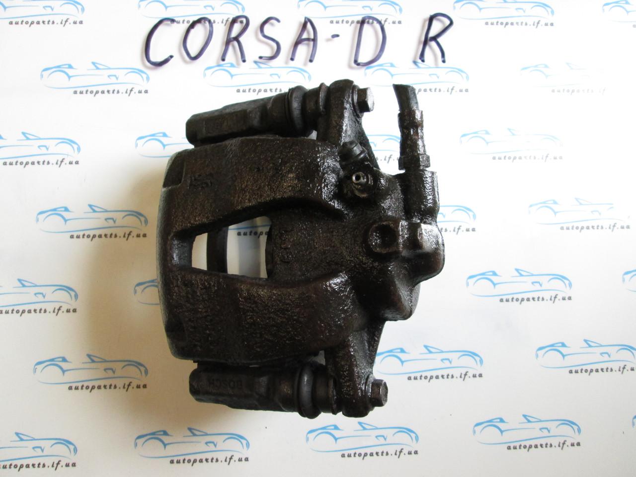 Суппорт передний правый Corsa D, Корса Д