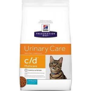 Лечебный сухой корм для котов Hill's Prescription Diet Feline Urinary Care c/d Multicare Ocean Fish 1,5 кг