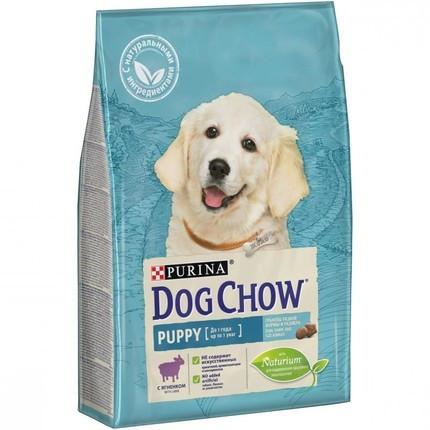 Сухой корм для щенков Purina Dog Chow Puppy Lamb 14 кг
