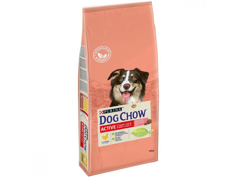 Сухой корм для собак Purina Dog Chow Active Adult Chicken 2,5 кг