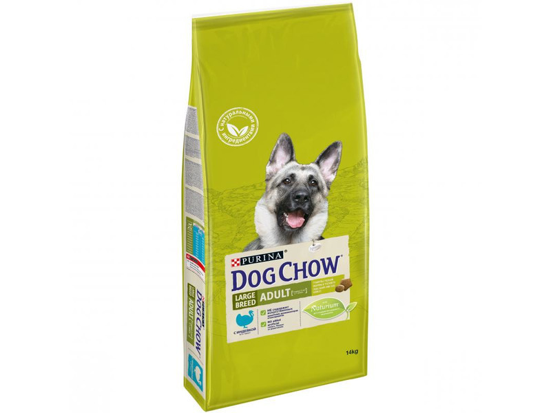 Сухой корм для собак Purina Dog Chow Adult Large Breed Turkey 14 кг