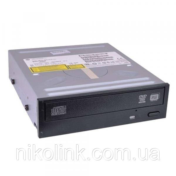 "Оптический привод HP GH82N DVD-RW, 3.5"", SATA black комиссионный товар"