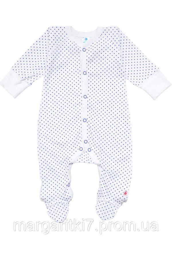 Комбинезон для новорожденных Minikin синяя звездочка