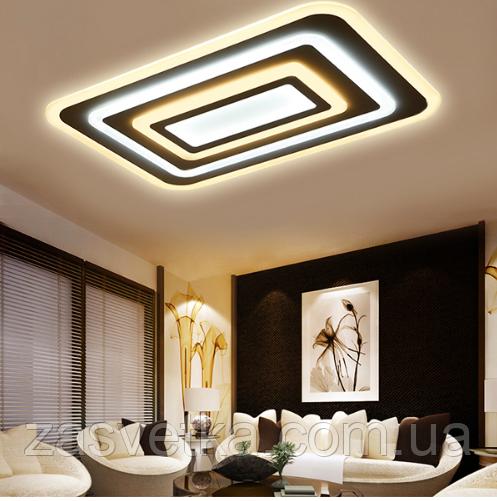 Потолочная светодиодная люстра с диммером 90W MX222229-600*300 dimme