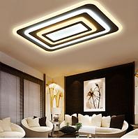 Потолочная светодиодная люстра с диммером 90W MX222229-600*300 dimme, фото 1
