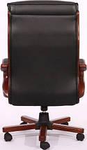 Кресло Президент 02 (6243 Black PU+PVC) чёрный., фото 3