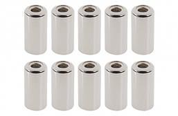 Концевик рубашки троса тормоза лат. 5 мм 200 шт в упаковке (CP)