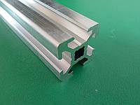 Станочный алюминиевый профиль 20х20 анод , порезка в размер, фото 1