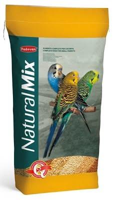 Корм для волнистых попугаев Padovan NaturalMix Cocorite 20 кг