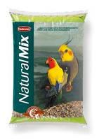 Корм для средних попугаев (неразлучники, кореллы) Padovan NaturalMix Parrocchetti 25 кг