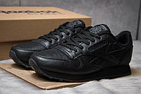 Кроссовки мужские Reebok Classic, черные (14841) размеры в наличии ► [  42 (последняя пара)  ], фото 1