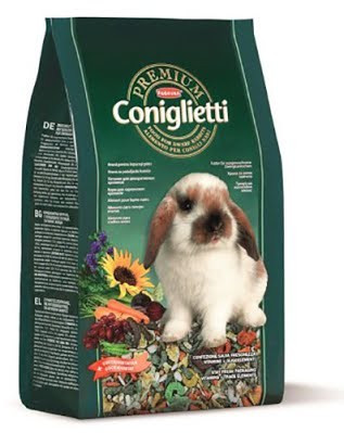 Корм для декоративных кроликов Padovan Premium Coniglietti 20 кг