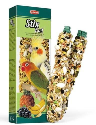 Корм для средних попугаев Padovan Stix Fruit Parrocchetti 100 г