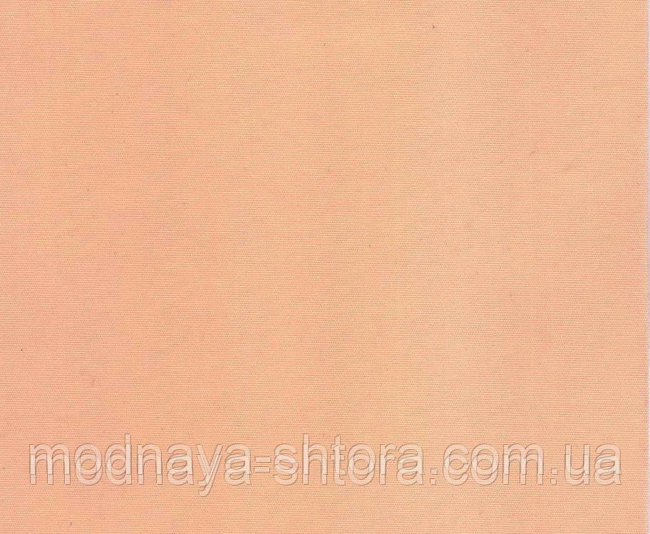 """Тканевые рулонные шторы """"Oasis"""" сатин (персик), РАЗМЕР 75х170 см"""