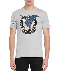 Мужская футболка Levis®  Classic Graphic Tee - Gray Heater
