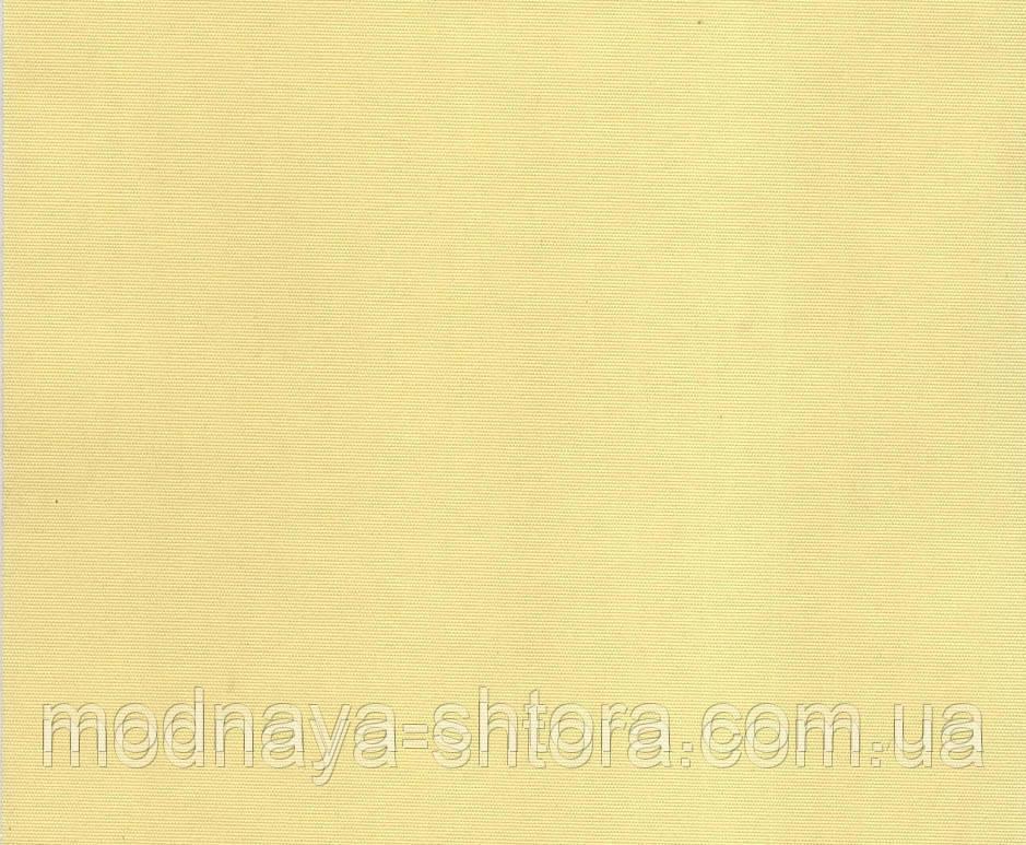 "Тканевые рулонные шторы ""Oasis"" сатин (лимон), РАЗМЕР 62,5х170 см"