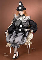 Кукла фарфоровая Pierrette
