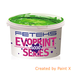 Краска пластизольная FETEKS WHITE 121, фото 2