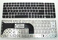 Клавиатура для ноутбука HP M6-1000 M6-1100 M6-1200 M6-1300 (русская раскладка, с серой рамкой)