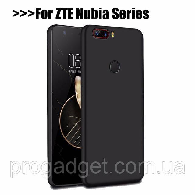 Защитный чехол для ZTE Nubia Z17 black (черный)