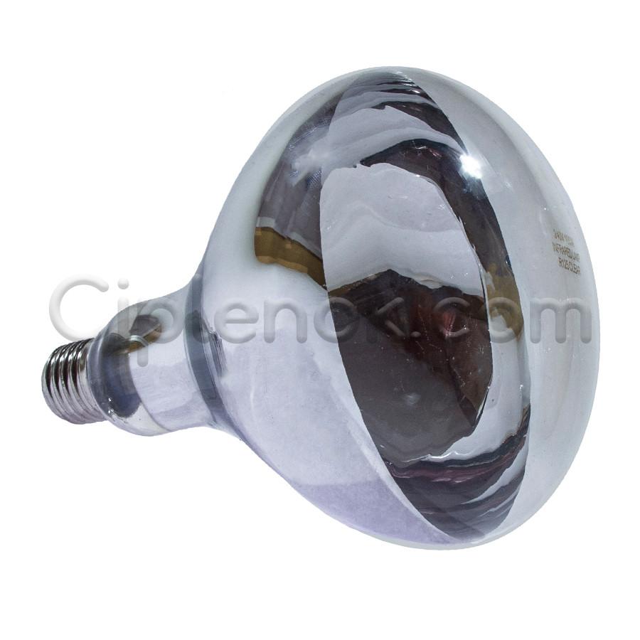 Лампа инфракрасная R125 100 Вт бел. LO
