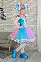 Карнавальный костюм для взрослых аниматоров Кукла L.O.L ЛОЛ Единоржка, фото 1