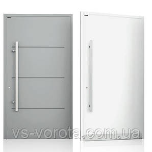Двери алюминиевые входные WISNIOWSKI модель CREO 311 - размер 1200Х2300 мм