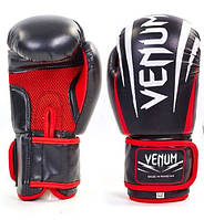 Перчатки боксерские VENUM SHARP MA-5315 (черный)
