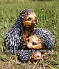 Садовая фигура Гриб польский и Семейка ежей, фото 5