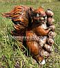 Садовая фигура Гриб польский и Белка Welcome, фото 3