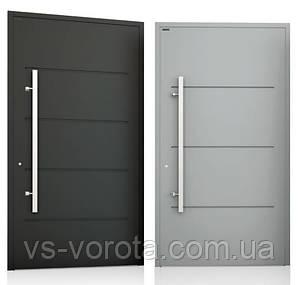 Двери алюминиевые входные WISNIOWSKI модель CREO 312 - размер 1200Х2300 мм