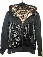 Куртка женская с капюшоном двойная , хлопок + полиестр, фирма Billcee
