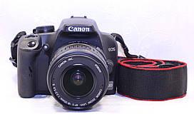 Б/у зеркальный фотоаппарат Canon EOS 1000d efs 18-55 II