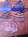 Трикотажная шапочка для младенцев, фото 2