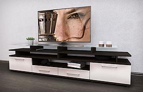 Тумба для ТВ Cinema Венге/Белый (Comfy-Home ТМ)