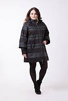 Стильная удлиненная куртка Весна/Осень Большие размеры от 48 до 72