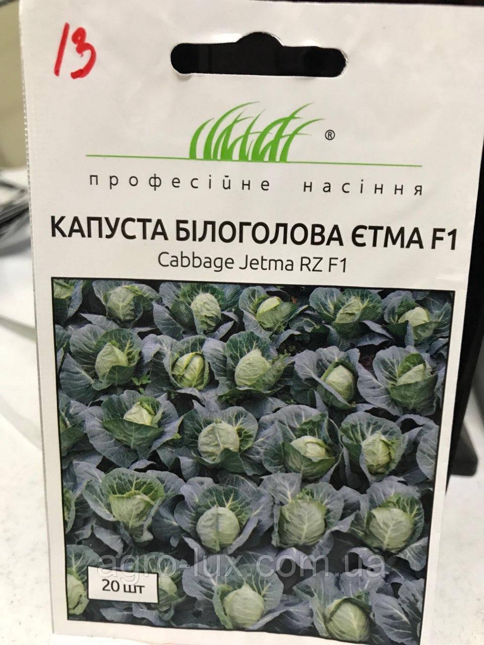 Семена капусты б/к ранней Этма F1 20 шт