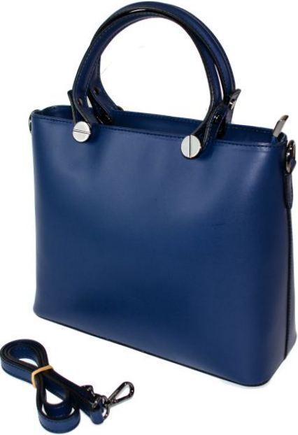 e5a66c2a3e69 Итальянская кожаная женская сумка синяя BD 4611/11 - Сумки Ремни Кошельки в  Днепре