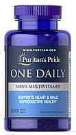 Витамины для мужчин Puritan`s Pride - One Daily Men`s Multivitamin (100 таблеток)