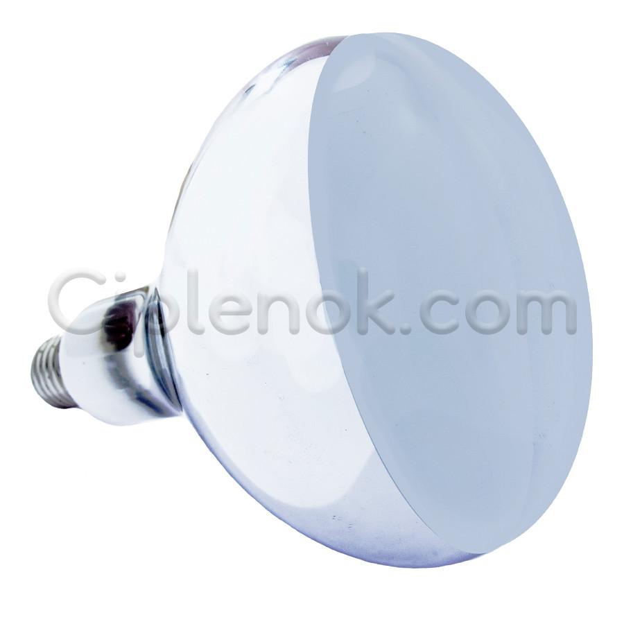 Лампа инфракрасная R125 100 Вт белая матовая LO