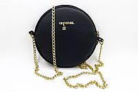 2fe52dbd2a86 Женская круглая сумочка CHANEL, модный клатч ШАНЕЛЬ, стильная сумка, цвет  черный