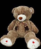 Мишка 200 см с шарфом большая мягкая игрушка подарок на День Святого Валентина 8 марта  День Рождения