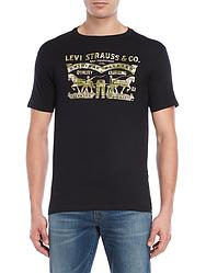 Мужская футболка Levis®  Classic Graphic Teen - Black