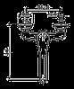 Смеситель для кухни EMMEVI LUXOR CR7005R хром, фото 2